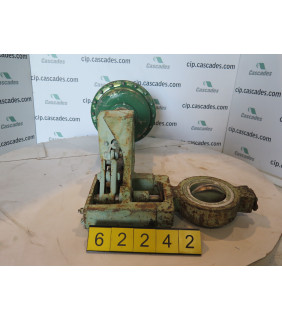 """BUTTERFLY VALVE - FISHER 9510-656 - 4"""" - USED"""