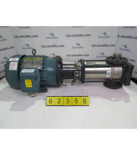 USED VERTICAL PUMP - GRUNDFOS - CR15-8 - FOR SALE