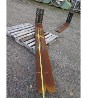 """NEW CASCADE FORKLIFT FORKS - CASCADE - 8 FEET - 96 INCHES - 4000 LB @ 48"""" - FOR SALE - Class II - 7000026"""