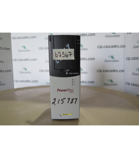 DRIVE - AC - 7.5 HP - 575 VOLTS - ALLEN BRADLEY - POWERFLEX 700 - CAT #: 20B E 9P0 A 0 AYNAND
