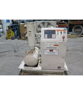 AIR COMPRESSOR - GARDNER DENVER - EBM 99F45 - 75 HP - 125 PSI