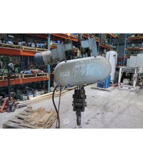 USED ELECTRIC CHAIN HOIST - 5 TON - CM - 5830 - FOR SALE