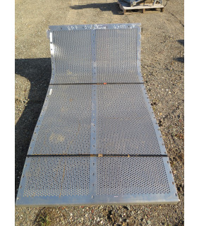 1 OF 3 - PERFORATED PLATE - VIBRATING SCREEN - JOHNSON 24