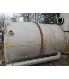 """USED TANK, STAINLESS STEEL TANK 7' X 10' - (87"""" X 120"""") - FOR SALE"""