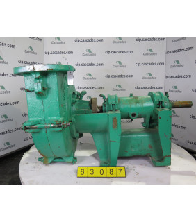 USED Rubber Lined PUMP - ALLIS-CHALMERS TYPE: SRL - FOR SALE - 3 x 3 - 10