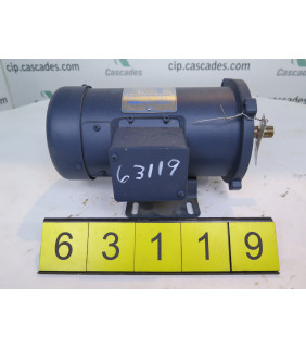 MOTOR - DC - LEESON - 1/2 HP - 1750 RPM - 90 VOLTS - USED