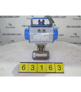 "BALL VALVE - 1.5"" - JAMESBURY 9FB 3600 XTB - VPVL Pneumatic Actuators"