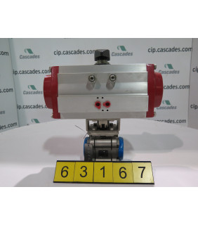 "BALL VALVE - 1.5"" SP - FLOW-TEK - 2200 WOG - ACTUATOR BRAY 93 SERIES"