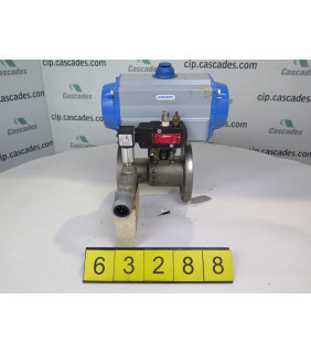 "BALL VALVE - JAMESBURY 7150 - 2"" - USED"