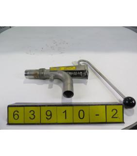 2 OF 2 - SAMPLER VALVE - METSO - T22-MO - USED