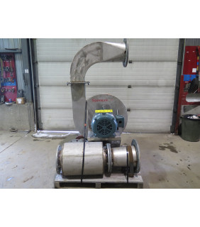 SINGLE STAGE PRESSURE BLOWER - SPENCER BLOWERS - M-2025-SS/30