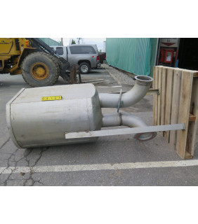 STAINLESS STEEL TANK - ± 150 US GAL