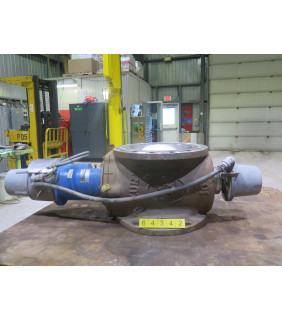 "BASIS WEIGHT VALVE - DEZURIK PPE - 16"" - USED"