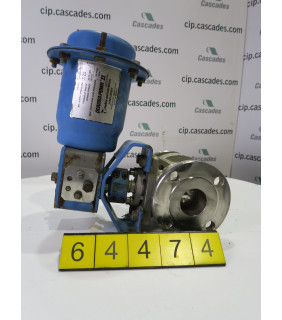 BALL VALVE - NELES JAMESBURY 9150 - 2""