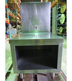 """STAINLESS STEEL TABLE - 24"""" X 27"""" X 44"""""""