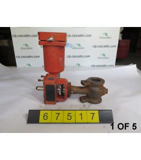 "1 OF 5 - USED ROTARY CONTROL VALVE - MASONEILAN CAMFLEX II 35002 SERIES - MODEL:35-35102 - 2"" - FOR SALE"