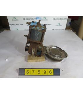 "BUTTERFLY VALVE - DEZURIK BHP-004 - 6"" - USED"
