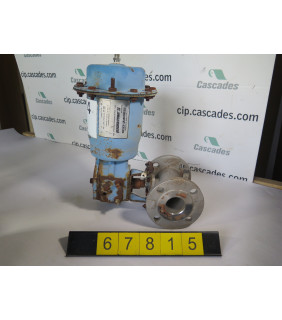 "BALL VALVE - NELES JAMESBURY 5150 - 2"" - USED"