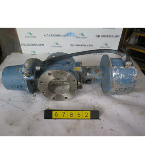 "BASIS WEIGHT VALVE - DEZURIK - PPE - 6"" - USED"