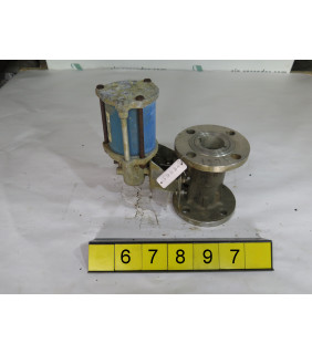 "BALL VALVE - JAMESBURY 5150 - 2"" - USED"
