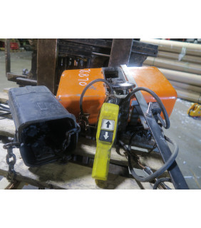 USED - ELECTRIC CHAIN HOIST - JET - 1-TON - FOR SALE