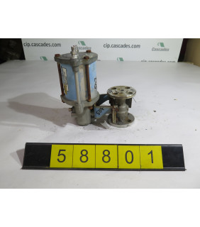 "BALL VALVE - NELES JAMESBURY 5150 - 1/2"" - USED"