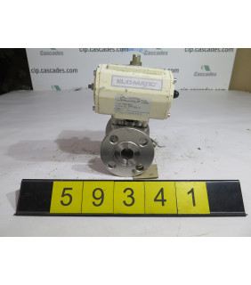 "BALL VALVE - ELO-MATIC - 1"" - USED"