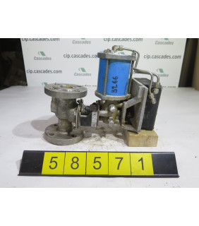 "BALL VALVE - JAMESBURY - 1"" - USED"