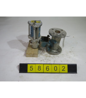 "BALL VALVE - JAMESBURY 5150 - 1.500"" - USED"