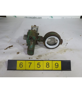 """BUTTERFLY VALVE - DEMCO - 3"""" - USED"""