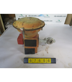 """BUTTERFLY VALVE - MASONEILAN 33-37412 - 2"""" - USED"""