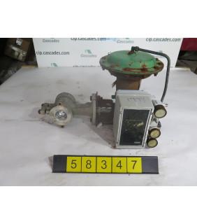 """V-BALL VALVE - FISHER V100-1052 - 2"""" - USED"""