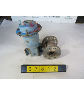 "BALL VALVE - NELES JAMESBURY 5325 - 2"" - USED"