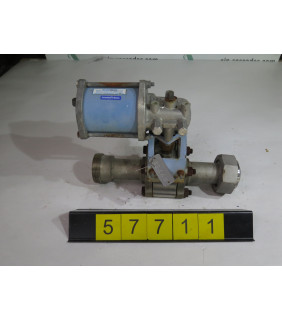"BALL VALVE - JAMESBURY 4C-3600 - 1.500"" - USED"