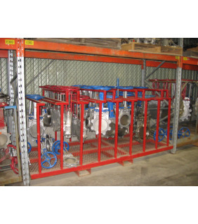 "KNIFE GATE VALVE - 8"" - VELAN - MANUAL - RESILIENT SEAT"