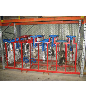 "KNIFE GATE VALVE - 16"" - VELAN - MANUAL - RESILIENT SEAT"