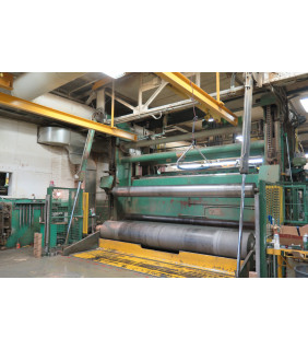 "Slitter Rewinder - Beloit - 174.125"" drums face"