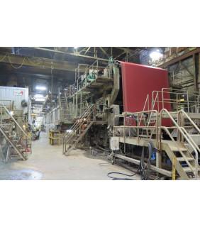 "Kraft Paper Machine - GL&V - Black Clawson and Beloit - 120"" Trim"