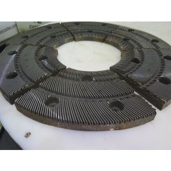 "REFINER PLATES - ANDRITZ - SPROUT - 26"" - MODEL: : 26TA201 X1 AA"