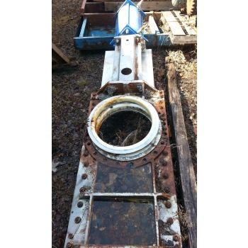"KNIFE GATE VALVE - 20"" - STAFSJO - O-PORT - PNEUMATIC"