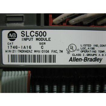 INPUT MODULE SLC 500 - ALLEN BRADLEY 1746