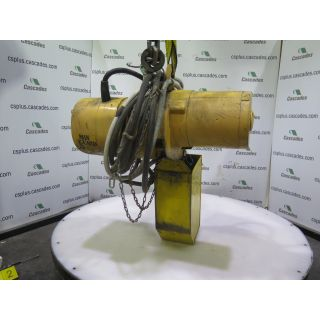 ELECTRIC CHAIN HOIST - BUDGIT - 1/4 TON - 575 VOLT