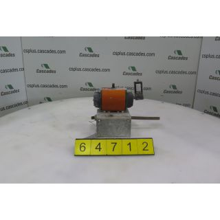3 WAY BALL VALVE - KAJAANI - TYPE: 37DG - NORBRO - 40 R-SERIES - ACTUATOR
