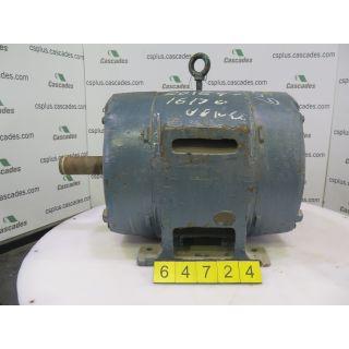 MOTOR - AC - G.E. - 40 HP - 1200 RPM - 575 VOLTS
