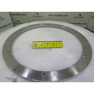 CLAMPING RING - PRESSURE SCREEN - BLACK CLAWSON - UV-100