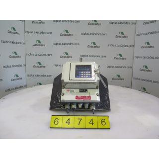 MAGNETIC FLOW TRANSMITTER SIGNAL CONVERTER - FISCHER PORTER TRANSDUCER - 50SM13