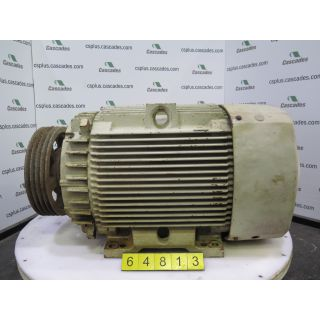 MOTOR - AC - GENERAL ELECTRIC - 75 HP - 1200 RPM - 575 VOLTS