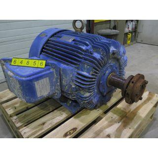 csplus.cascades.com - sku: 64856 - MOTOR - AC - TECO WESTINGHOUSE - 75 HP - 900 RPM - 460 VOLTS