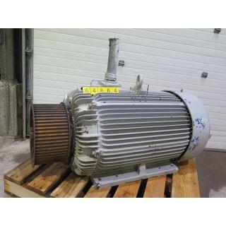 csplua.cascades.com - sku: 64864 - MOTOR - AC - TECO WESTINGHOUSE - 250 HP - 1200 RPM - 460 VOLTS