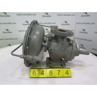 """PLUG VALVE - FISHER - 61L - 2"""""""